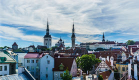 Vie of old city Tallinn, Stock Photo