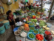 Vie quarto del ` s di Hanoi di vecchio Fotografia Stock Libera da Diritti