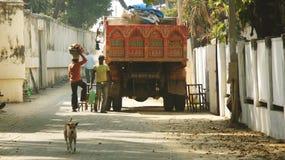 Vie quotidienne dans l'Inde Photo libre de droits