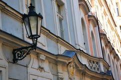 Vie romantiche di Praga Fotografie Stock