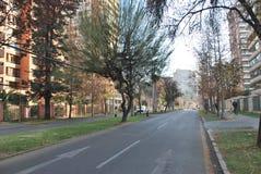 Vie a Santiago, Cile immagine stock libera da diritti