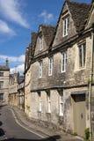 Vie singolari pittoresche del ` s di Cirencester vecchie Immagini Stock Libere da Diritti