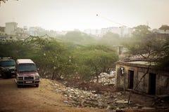 Vie sporche Delhi Fotografia Stock
