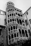 Vie strette e vecchie case a Venezia, Italia Immagini Stock Libere da Diritti