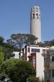 Vie urbaine de San Francisco Image stock