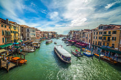 Vie veneziane Immagine Stock