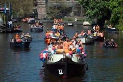 Vie vuote a Amsterdam Fotografia Stock Libera da Diritti