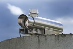 Viedeo Surveillance Camera Royalty Free Stock Photography