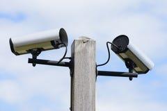 Viedeo Surveillance Cameras Royalty Free Stock Image