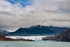 Viedma Glacier in Los Glaciares National Park Stock Images