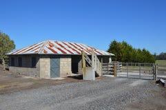 Vieh-Versammlungs-Station Stockfotografie