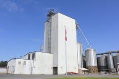 Vieh-Zufuhr-Fabrik Lizenzfreies Stockbild