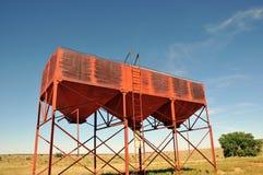 Viehzufuhrkontrollturm Stockfotografie