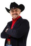 Vieil âge moderne 75 de cowboy de jour photo stock