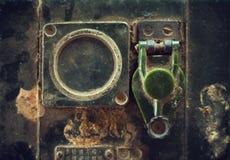 Vieil émetteur radioélectrique Photo stock