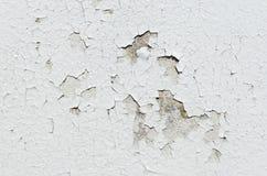 Vieil épluchage peint sur le Wal concret Image libre de droits