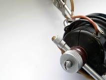 Vieil équipement audio authentique Image libre de droits