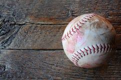 Vieil équipement de base-ball utilisé Images libres de droits