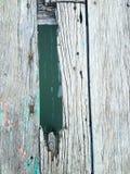 Vieil étage en bois Photo stock