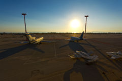 Vieil aéroport d'Athènes Photos stock