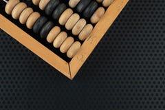 Vieil abaque en bois Photos stock