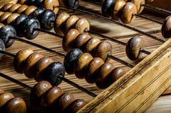 Vieil abaque en bois Photos libres de droits
