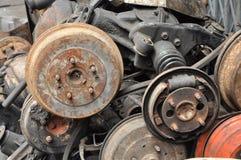 Vieil accessoire de véhicule de pivot Photographie stock