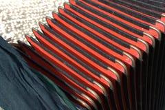 Vieil accordéon Photo libre de droits