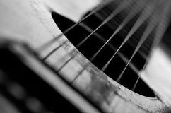 Vieil acoustique Photo libre de droits