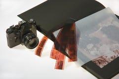 Vieil album Photos libres de droits