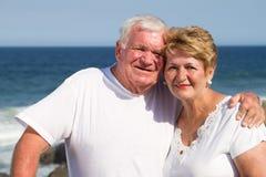 Vieil amour de couples Photos libres de droits