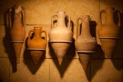 Vieil amphora images libres de droits
