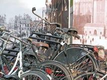 Vieil Amsterdam Image libre de droits