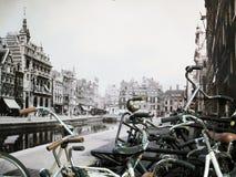 Vieil Amsterdam Image stock