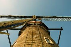 Vieil anno 1738 de moulin Photo stock