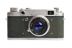 Vieil appareil-photo - 1950-1960 ans Photographie stock