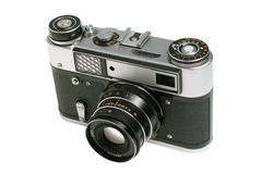 Vieil appareil-photo analogique Photo stock
