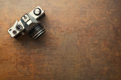 Vieil appareil-photo analogique photos libres de droits