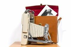 Vieil appareil-photo antique de photo Photo stock