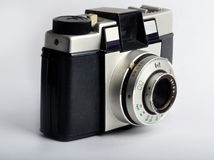 Vieil appareil-photo compact 2 de film Photos stock
