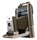 Vieil appareil-photo d'isolement Image libre de droits