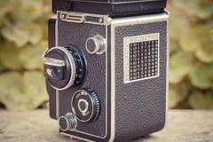 Vieil appareil-photo de cru Photographie stock libre de droits