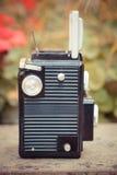 Vieil appareil-photo de cru Photo libre de droits