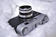 Vieil appareil-photo de film Photos libres de droits