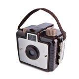 Vieil appareil-photo de film de cru Images libres de droits