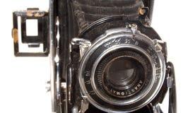Vieil appareil-photo de photo de cru Photographie stock libre de droits