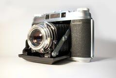 Vieil appareil-photo de pliage Images stock