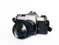 Vieil appareil-photo de slr Photos stock