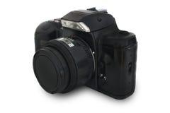 Vieil appareil-photo de slr Photos libres de droits
