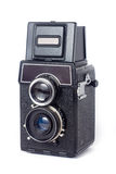 Vieil appareil-photo de TLR Photos stock